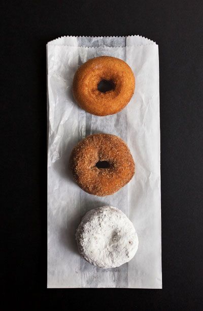 In Oak Park, Illinois, the farmer's market is famous for their doughnuts.