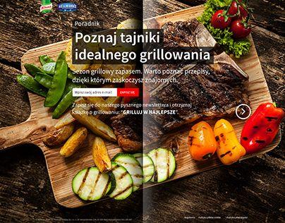 """Check out new work on my @Behance portfolio: """"Grilluj w najlepsze - Knorr/Hellmann's"""" http://on.be.net/1OcGl7Q"""