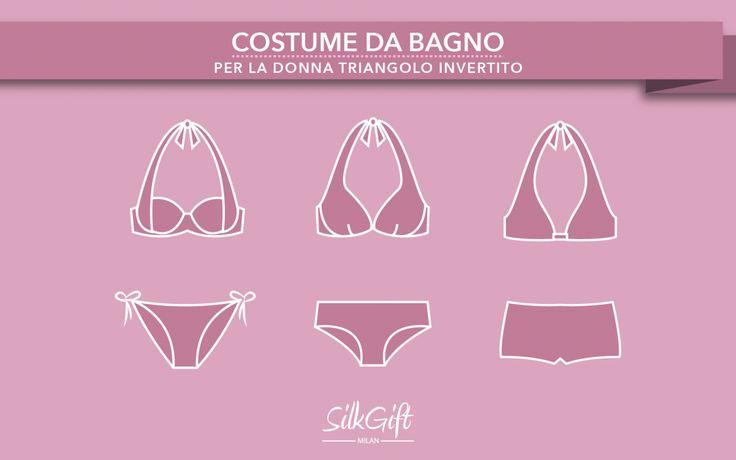 Oggi Silk Gift Milan ci svela alcuni segreti su come indossare il costume da bagno se si ha un corpo a triangolo invertito su http://www.stilefemminile.it/costume-da-bagno-per-la-donna-triangolo-invertito/