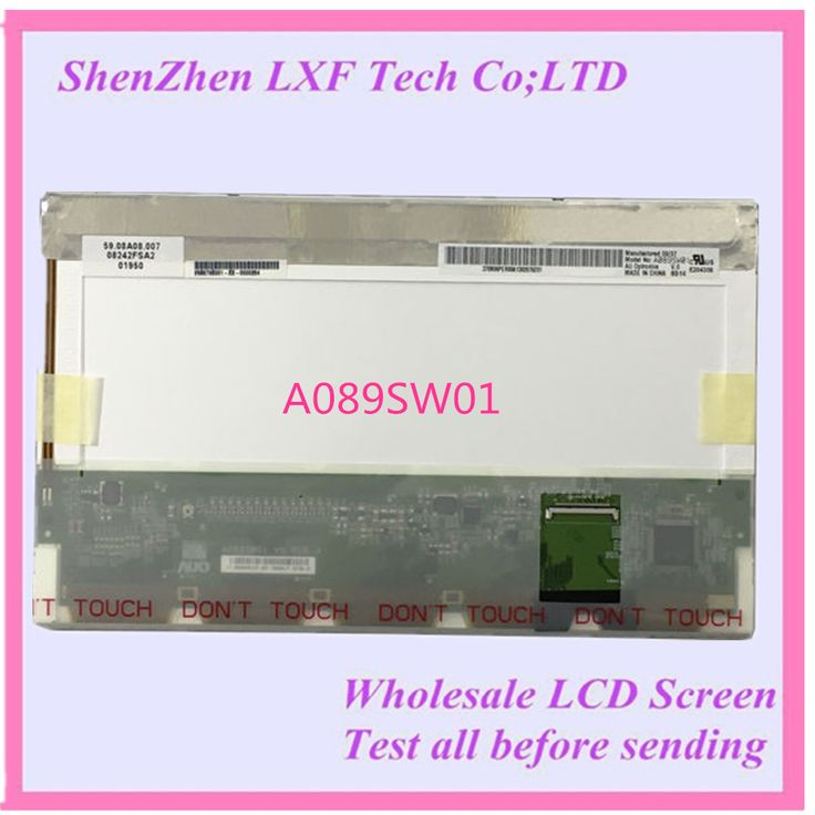 """Free shipping 8.9"""" LCD Screen for Acer aspire one AOA110 AOA150 ZG5 LP089WS1 TLA1 A089SW01 N089L6-L02 B089AW01"""
