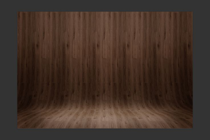 create a curved wood background in photoshop