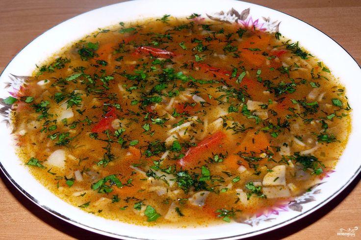 Рецепт суп сушеных грибов