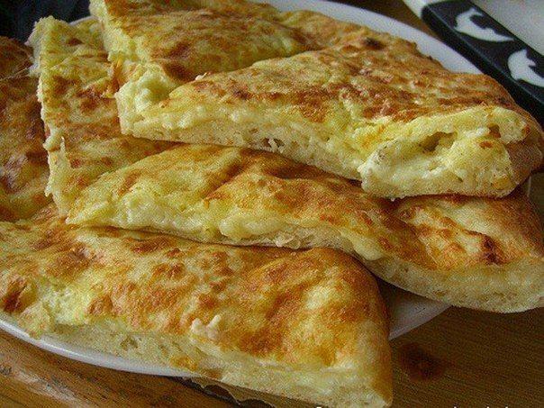 Быстрое хачапури к завтраку | Про рецептики - лучшие кулинарные рецепты для Вас!  #рецепты