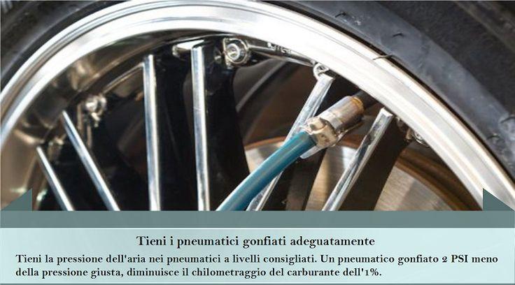 Pompa le tue gomme Mantenere i pneumatici gonfiati è uno dei modi più semplici e essenziali per ridurre l'utilizzo della benzina. Risparmio di benzina = risparmio di denaro. Quindi, dovresti cercare di migliorare la tua economia di combustibile. #pneumaticiinvernali