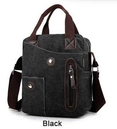 PILER Luxury Shoulder Messenger Business bags Canvas