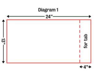 Turban pattern, diagram 1