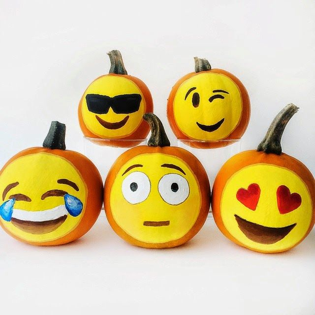 25 Best Ideas About Painted Pumpkins On Pinterest