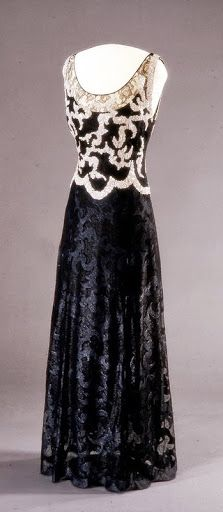 Queen Maud of Norway's Worth Dress - Spring 1938 - by House of Worth - Nasjonalmuseet, Oslo