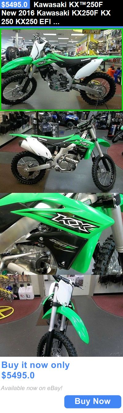 motorcycles And scooters: Kawasaki Kx™250F New 2016 Kawasaki Kx250f Kx 250 Kx250 Efi Otd Price No Fees And $250 Off For Vets! BUY IT NOW ONLY: $5495.0