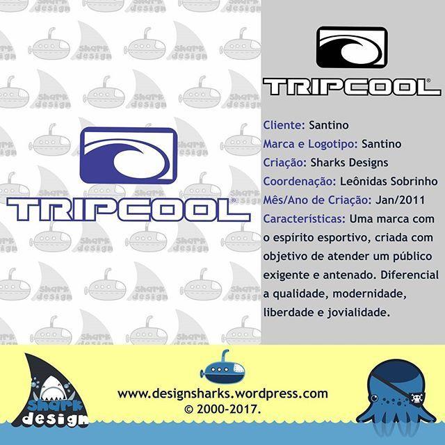 Outra marca que cada ano mais forte e reconhecida. Nasceu da necessidade de explorar novos caminhos para a empresa. Com seu logotipo simples e elegante.   #tripcool #backpack #surf #surfing #mochilas #marcas #logotipo #logo #design #designgrafico #project #graphicdesign #webdesign #web #productdesign #sharks #tubaroes #tubarao #leonidasdesigner #leonidas #sparta #