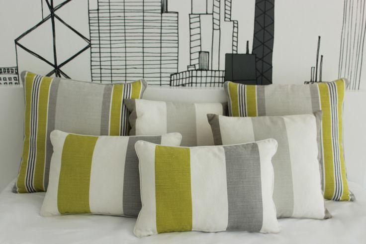 bedroom   parentesi flos   upholstered bench   suspensed bed   grey&green   mr perswall wallpaper