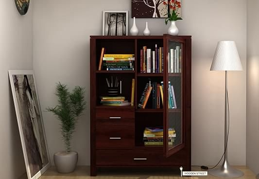 Buy Pietro #Book #Case (Mahogany Finish) online in India from Wooden Street. Shop for a wide range of stylish #storage #furniture #online at unbeatable prices. Wooden Street offers #storage #furniture including shoe racks, bookshelves, wine racks, kitchen cabinets, etc. with amazing designs. So place your order now and add more beauty to your home. Visit : https://www.woodenstreet.com/storage-furniture Available in #Lucknow #Ludhiana #Mumbai #Nagpur #NewDelhi