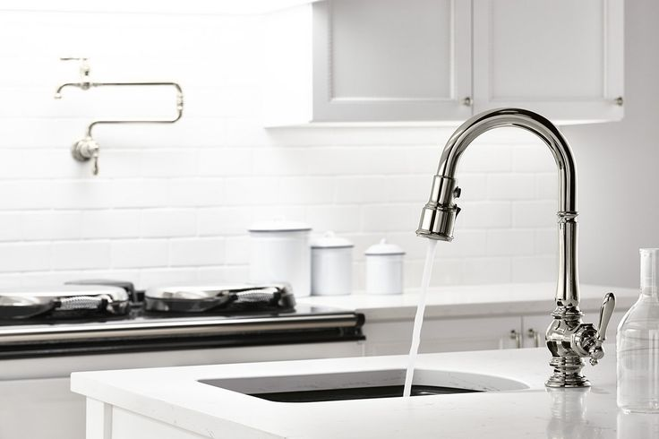 KOHLER Artifacts Pull Down Kitchen Sink Faucet Is One Of Several New  Designs Featuring Sweep And BerrySoft Spray.