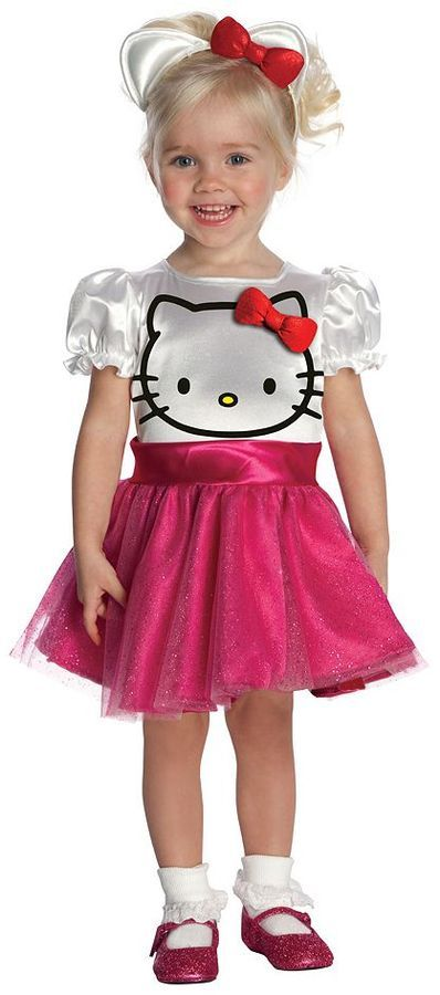 hello kitty tutu dress halloween costume toddler