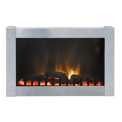 Paramount - Dresden Stainless Steel Wall Mount Electric Fireplace - EF-WM106 - Home Depot Canada