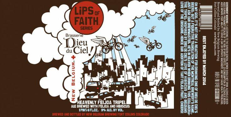 A collaboration between Dieu du Ciel and New Belgium.