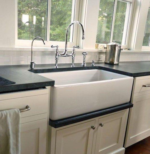Gorgeous Kitchen Sink Design Ideas 32 Kitchen Sink Design Kitchen Sink Decor Farmhouse Sink Kitchen