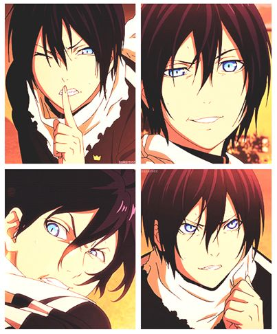 Noragami 60% of my motivation to watch noragami was his eyes.
