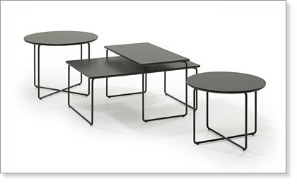 Band table by Adea