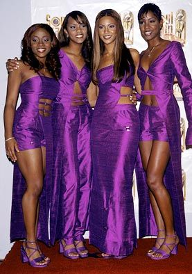 Destiny's Child  I loved the original Destiny's Child...especially they're coordinated outfits!