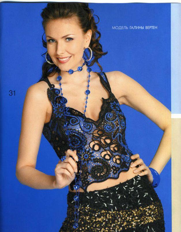 Häkelanleitungen - Zhurnal MOD, MOA Fashion No 534 crochet patterns - ein Designerstück von Duplet bei DaWanda