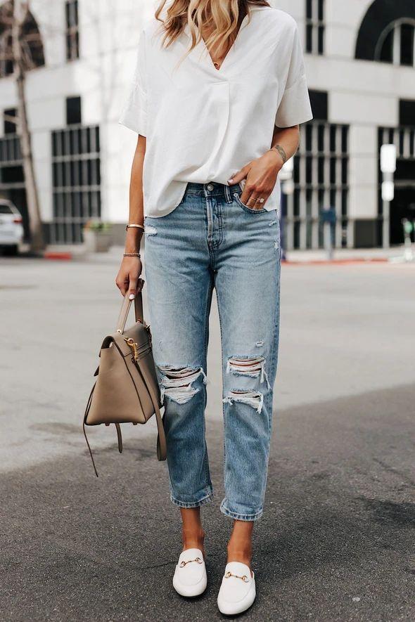 Skinny jeans Corduroy Mom Jeans – rotatal