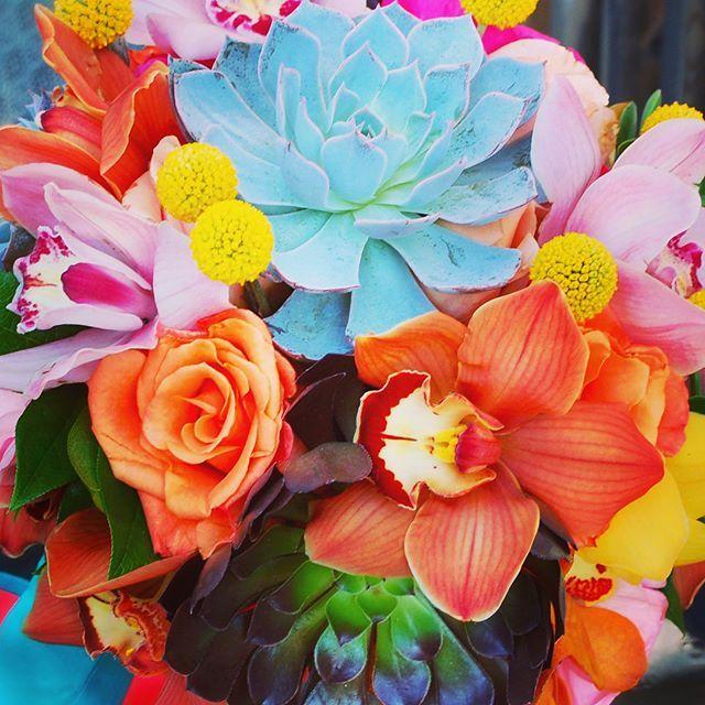 """The most ""succulent"" wedding flowers 😊😊 #succulents #yeglocal #yegflorist #yegwedding #weddingflowers #orchids #cymbidium #fallflowers #bridalbouquet"" by @floreternaflowers. #bridalstyle #weddingfashion #weddingdream #weddingidea #bridalinspiration #bridalinspo #rusticwedding #невеста #prewedding #bridalgown #bridaldress #свадебноеплатье #vestidodenoiva #couture #gelinlik #gown #weddingtime #theknot #engagement #weddinghair #brides #stylemepretty #junebugweddings #weddingdesign #casamento…"