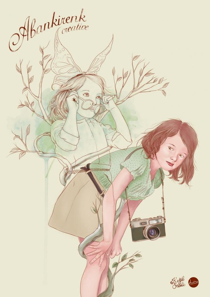 """When ego's altered, magical things happen, by Okky """"ketjil"""" Fachrudin, Jogja based illustrator"""