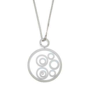LOT:268   CHOPARD - a 'Happy Spirit' diamond pendant.