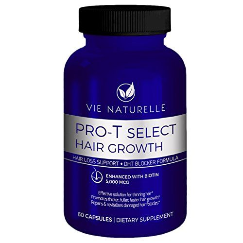 Vie Naturelle Hair Loss Vitamins Supplement for Fast Hair Growth - DHT Blocker with 5,000mcg Biotin for Women and Men - 60 Small Pills (30 Day Supply) ** CHECK OUT ADDITIONAL DETAILS @: http://www.passion-4fashion.com/beauty/vie-naturelle-hair-loss-vitamins-supplement-for-fast-hair-growth-dht-blocker-with-5000mcg-biotin-for-women-and-men-60-small-pills-30-day-supply/