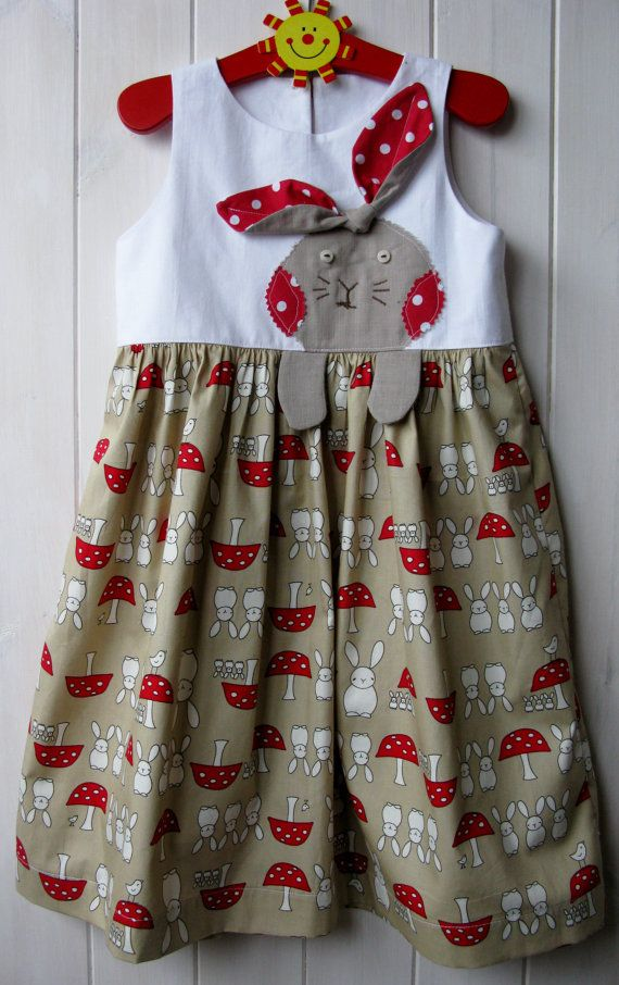 Easter bunny dress by Dodahs65 on Etsy