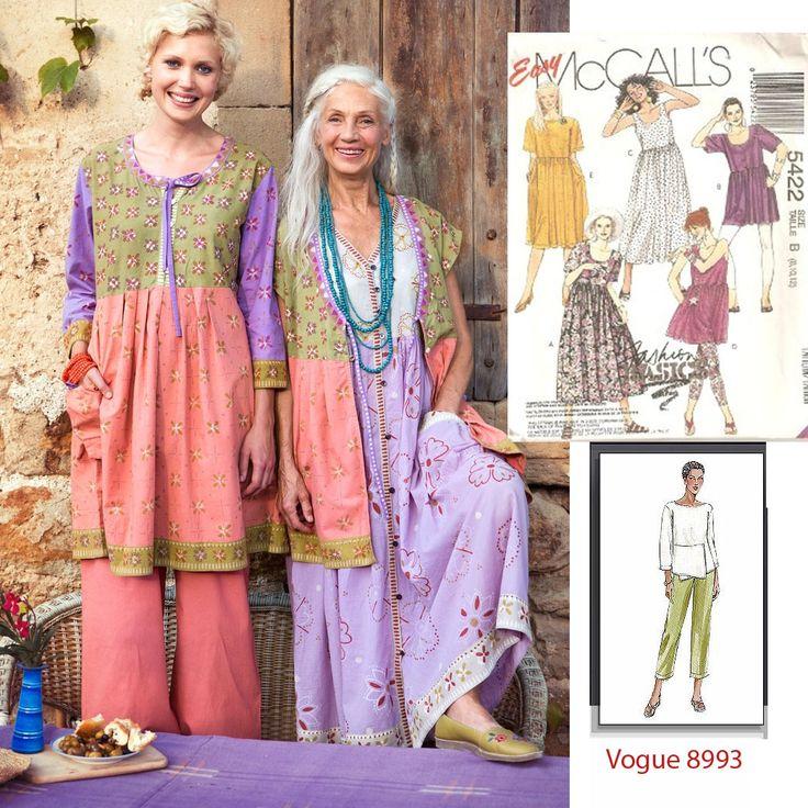 Atractivo Bohemian Sewing Patterns Festooning - Manta de Tejer ...