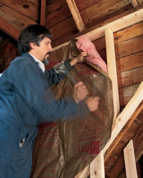 The best ways to insulate an old house (Photo: Bruce Martin) | Old House Journal Heating Month—31 days of tips & advice sponsored by www.unicosystem.com