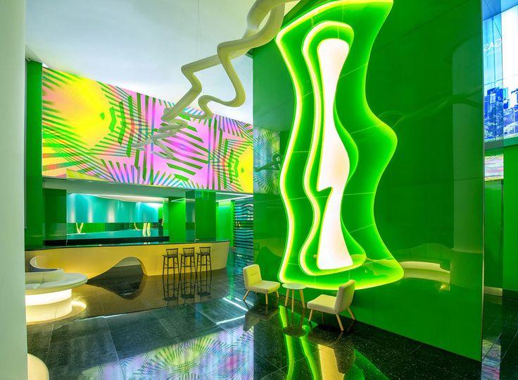 PEGASUS HOTEL in Kuala lumpur by Karim Rashid just opened june