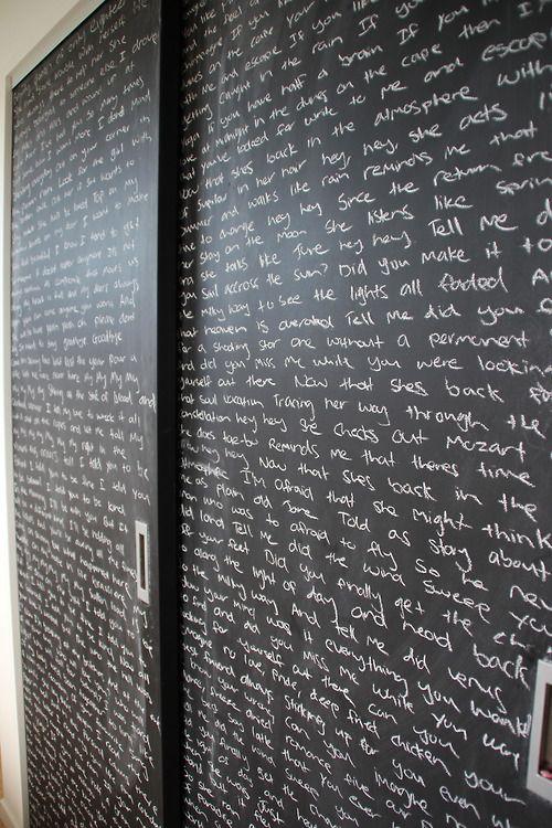 25+ Best Closet Door Ideas that Won The Internet [Stylish Design]. Chalkboard ... & Best 20+ Chalkboard doors ideas on Pinterest | Chalkboard paint ... Pezcame.Com