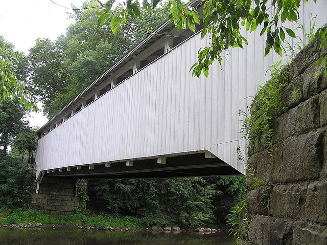 Banks Covered bridge in Volant, PA - Amish country.