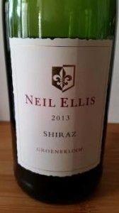 #NeilEllis Groenekloof Shiraz 2013