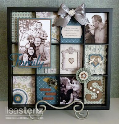 Lisa's Creative Corner: August Creative Club - Avonlea Display Tray