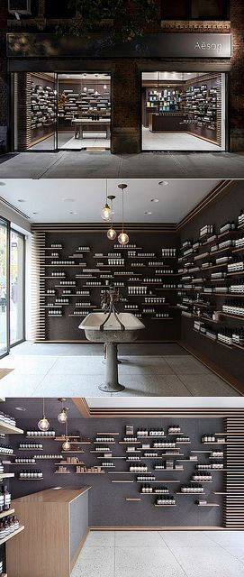 Aesop University Place, by Tacklebox / www.tacklebox-ny.com