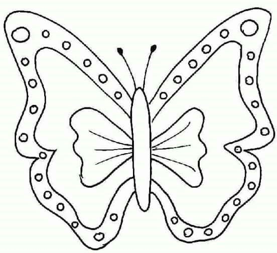 Popular Butterfly Coloring Book 75 A Ribbon Shaped