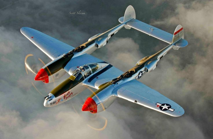 This image is an excellent tribute to the P-38 Lightning.