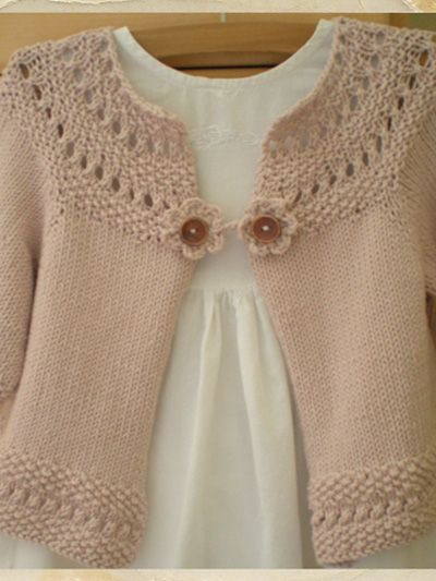 Nellie Cardigan Knit Pattern