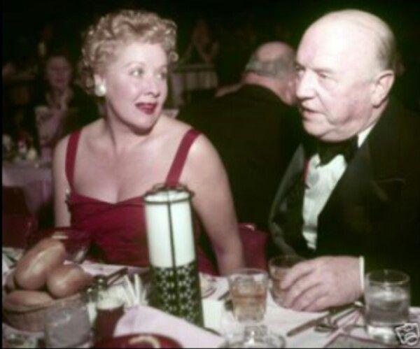 Vivian Vance and William Frawley