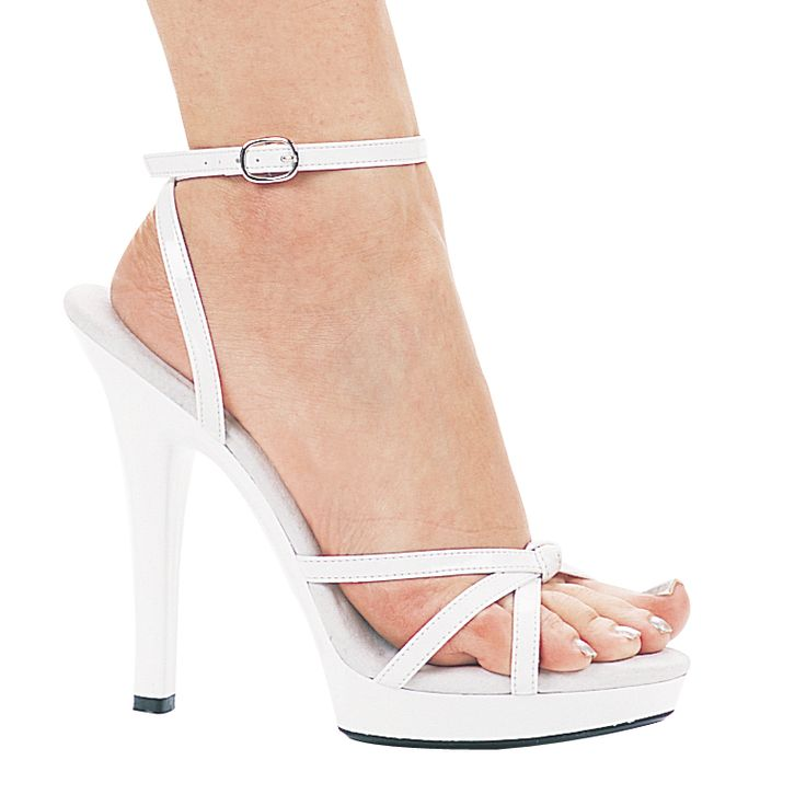 1000  images about White Strappy Heels on Pinterest