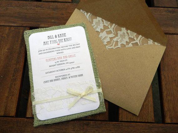 48 best Handmade Bridal Shower Invitations images – Homemade Wedding Shower Invitations
