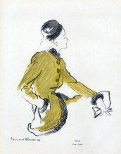 Bernard Blossac 1946 Carven, Anfrie (fabric)