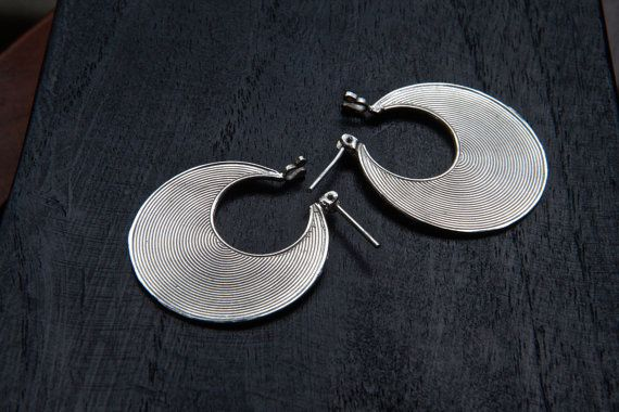 Silber Creolen, silber Ohrringe, runde Ohrringe, kleine Creolen, Sterling Silber Ohrringe, Silber 925 Creolen