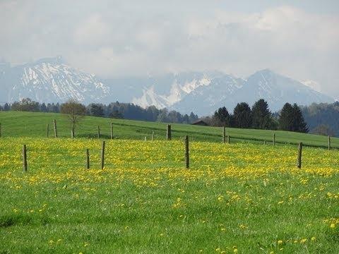Spring in Bavaria - YouTube