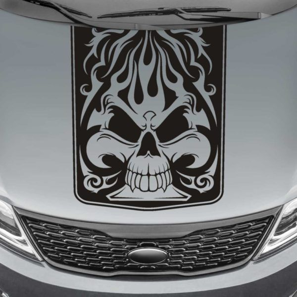 Best Stickers Images On Pinterest Decals Stickers And Hoods - Custom vinyl decals for car hoodsfull color graphic vinyl sticker decal skull ghost fit car hood