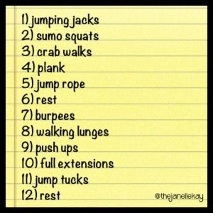 PE warm up game, PE fitness circuit, PE activity